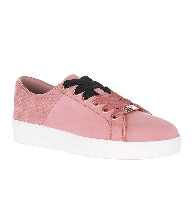 Ted Baker Riwven Suede Lace-Up Sneakers