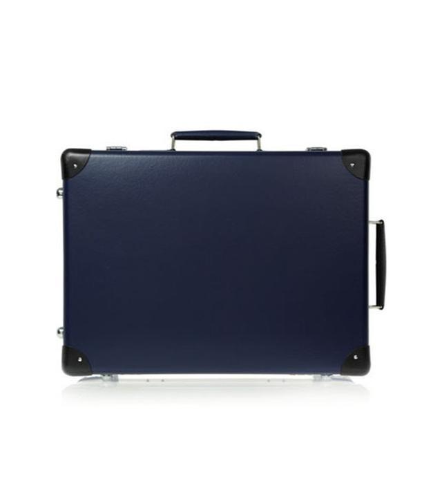 Globe-Trotter Leather-Trimmer Fiberboard Travel Trolley