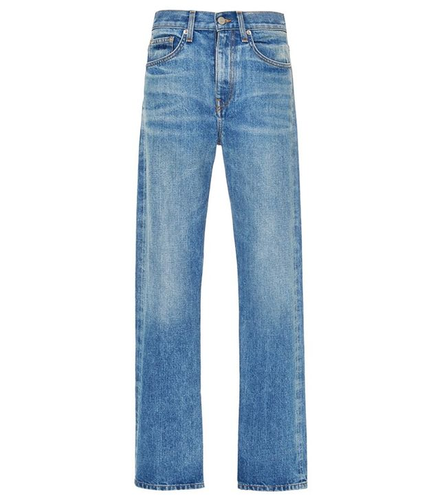 Brock Collection Light Vintage Wright Jeans