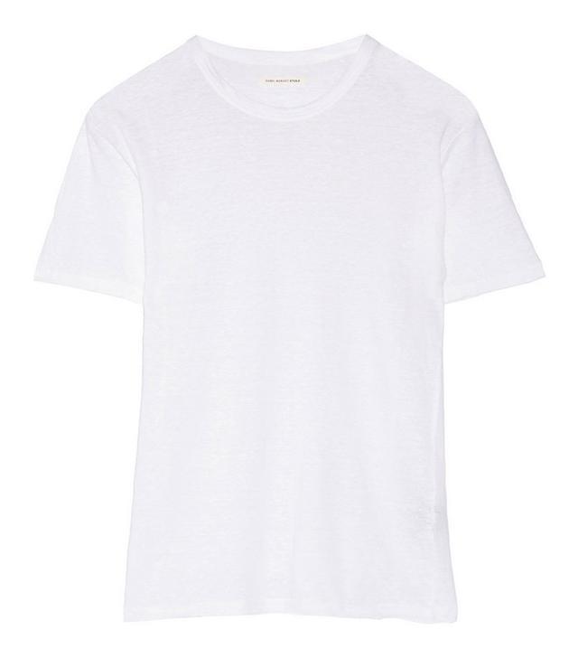 Étoile Isabel Marant Keiran Slub Linen T-Shirt
