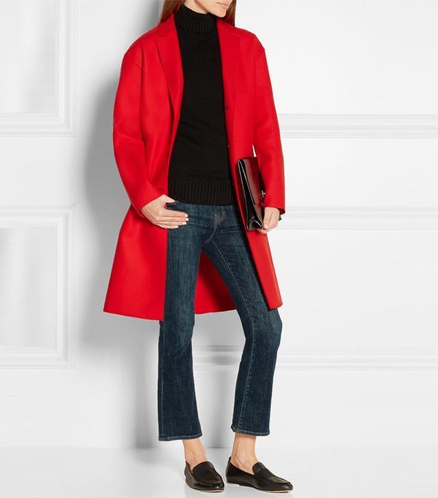 Rag & Bone Blankett Wool-Blend Twill Coat