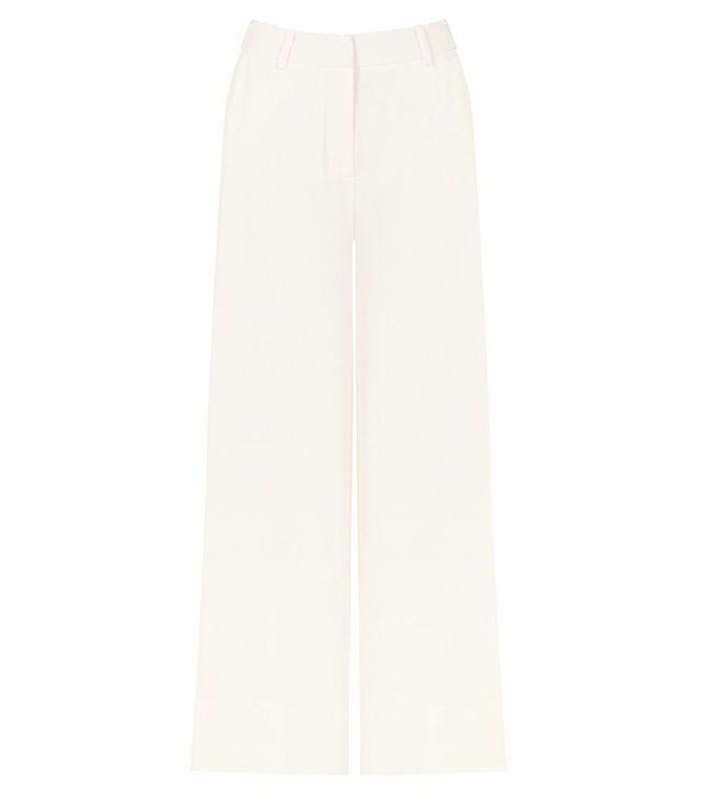 Warehouse Cropped Wide Leg Trousers