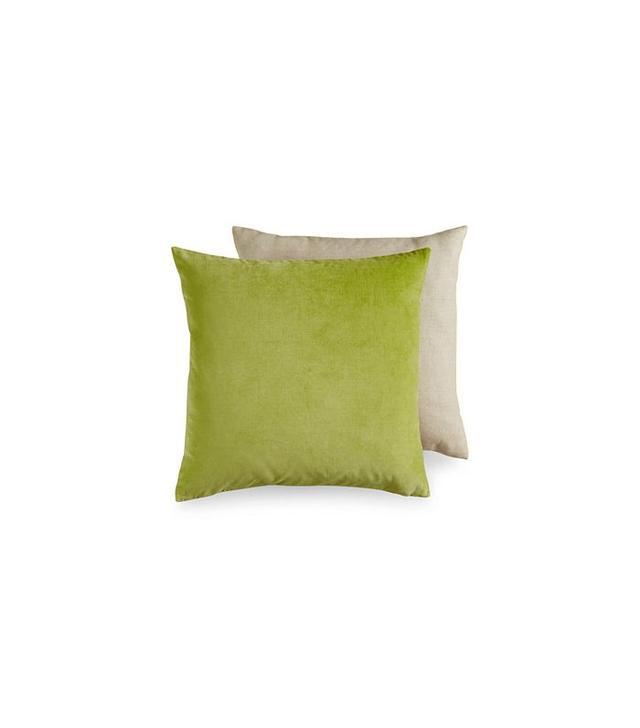 Bluebellgray Square Velvet Decorative Pillow