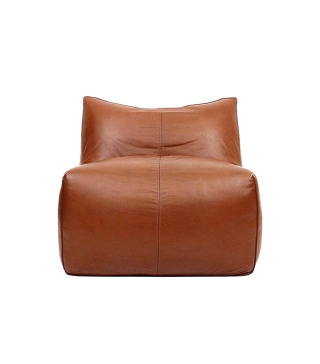 Mario Bellini Le Bombole Leather Lounge Chair