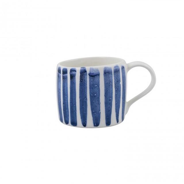 Liberty Trading Co Indigo Stripe Mug