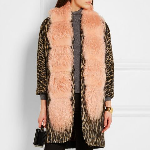 Marnie Faux Fur and Shearling Scarf