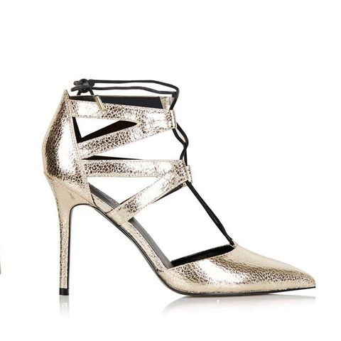 Mandy Ghillie Court Shoes