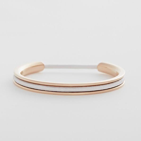 f o r e. Rose Gold Bracelet