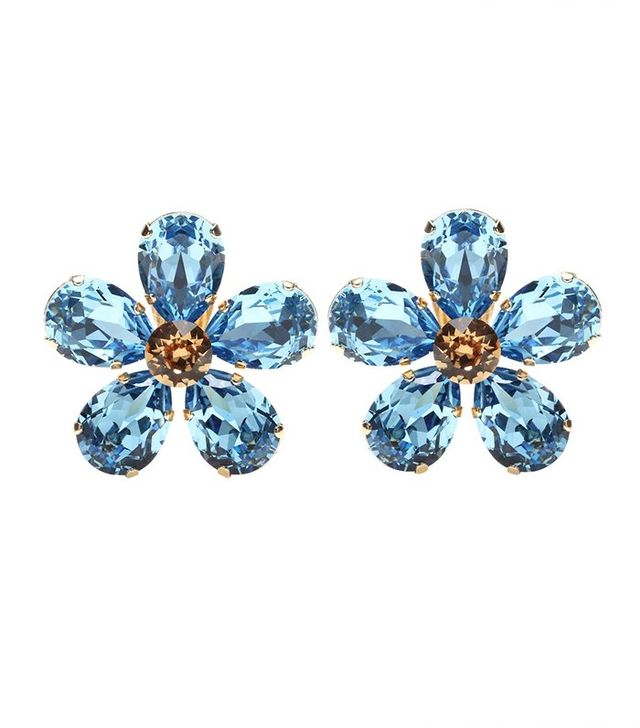 Dolce & Gabbana Embellished Clip-On Earrings