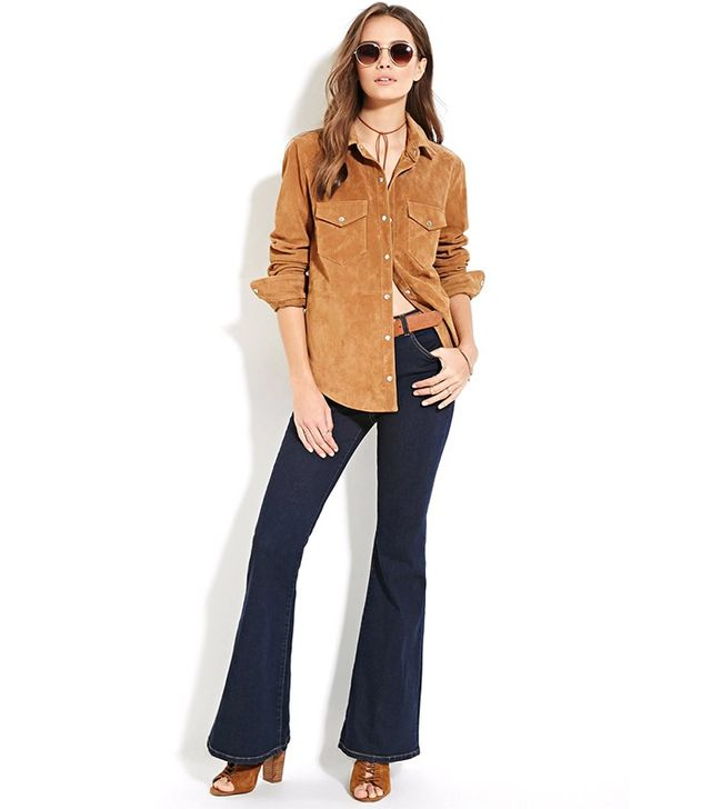 Forever 21 Contemporary Life in Progress Jeans