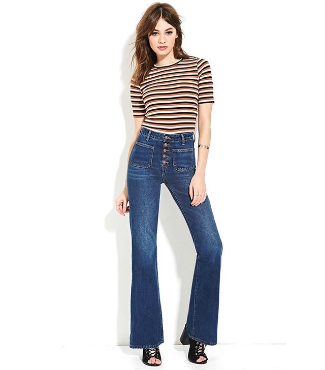 Forever 21 High-Waisted Flare Jeans