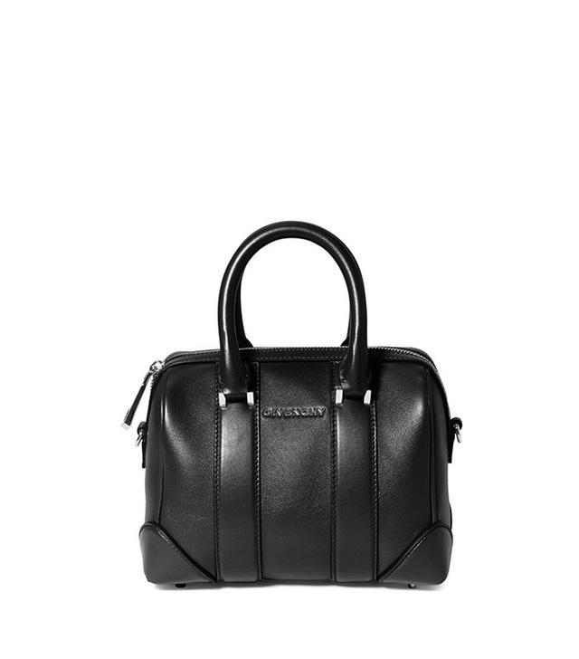 Givenchy Micros Lucrezia Sandy Leather Satchel