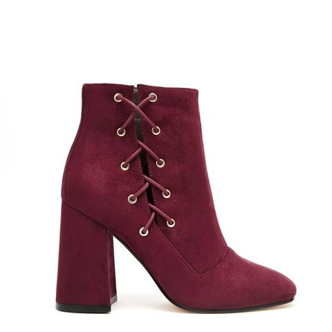 Enigma Lace Up Ankle Boots