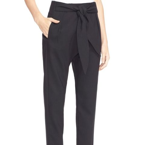 The Abstract Tie Waist Pants