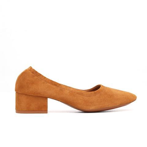 Heel Suede Shoes