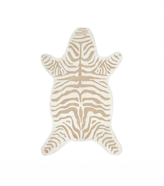 Emily & Meritt for Pottery Barn Kids Zebra Rug