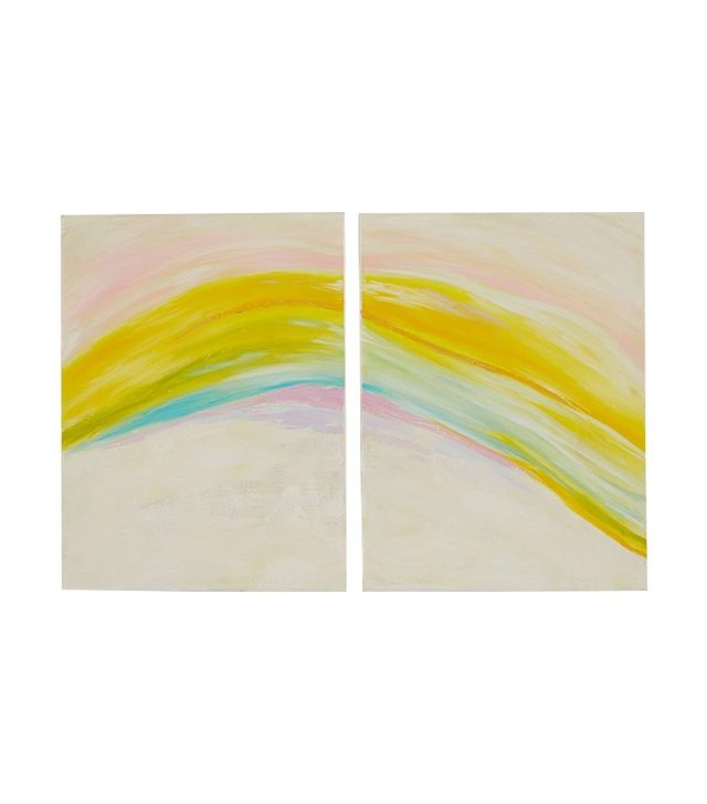 Pottery Barn Kids Rainbow Wall Art