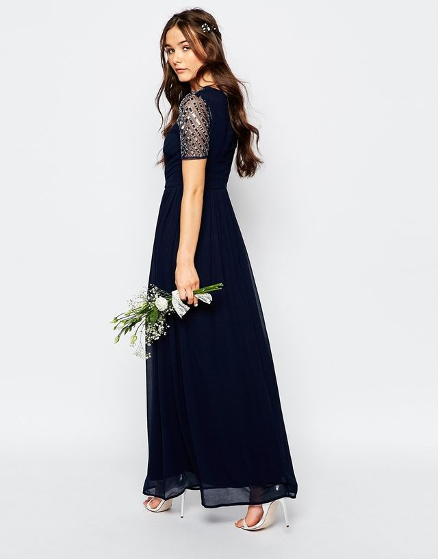 ASOS Maya Chiffon Maxi Dress