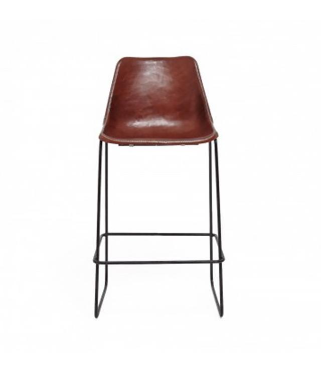 ABC Giron Leather Barstool