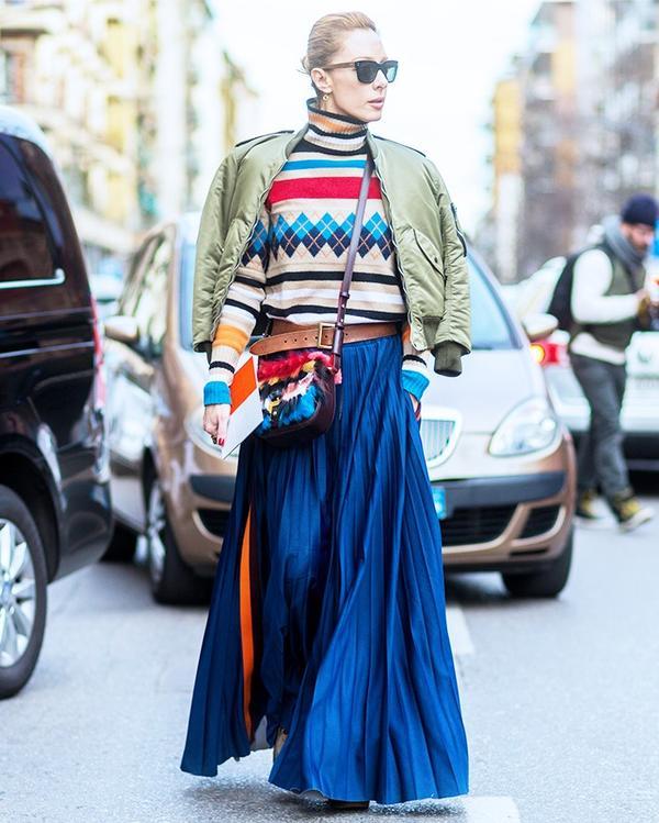 Who:Elina Halimi What: Milan Men's Fashion Week A/W 16.