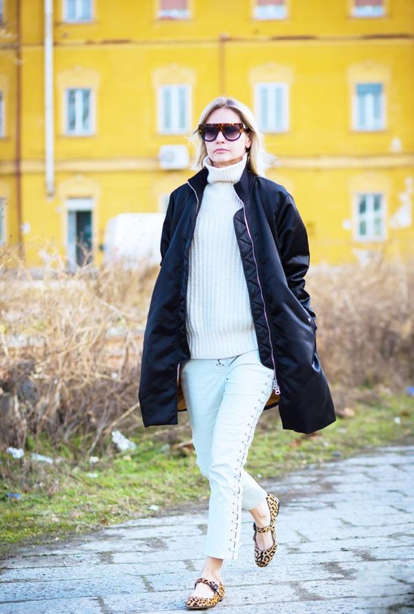What: Milan Men's Fashion Week A/W 16. Wear: Valentino sunglasses.