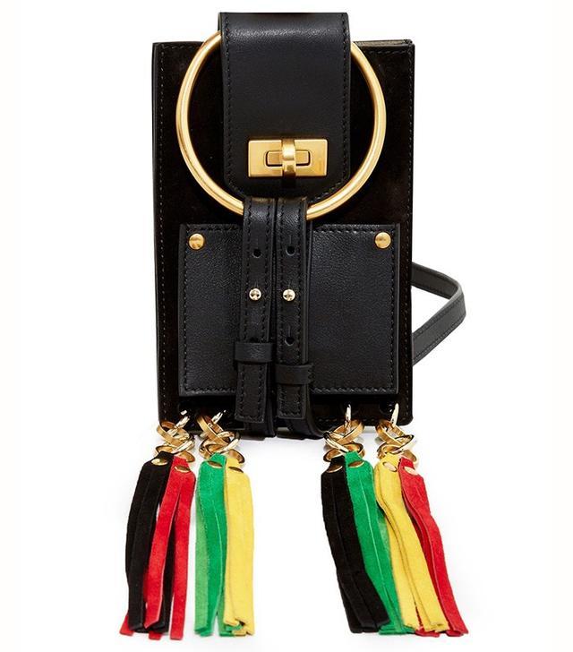 Chloé Jane Leather Mini Bracelet Cross-Body Bag