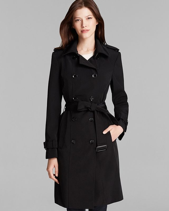 Calvin Klein Trench Coat—Double Breasted Belted