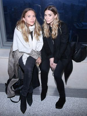 Ashley and Mary-Kate Olsen Stepped Out in Matching Handbags
