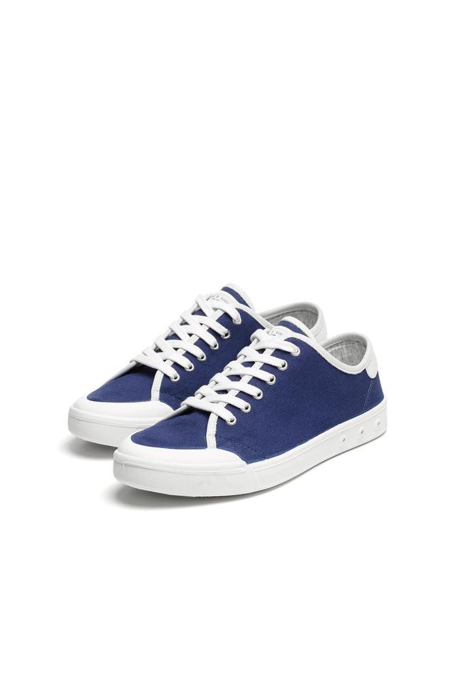 Rag & Bone Standar Issue Lace Up Sneakers in Cobalt Blue