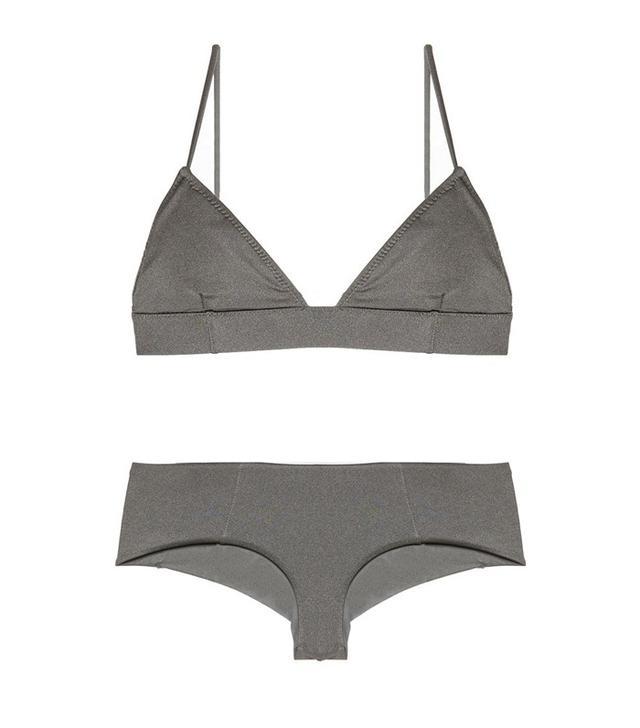 Eberjey Beach Glow Nadine Longline Bikini Top