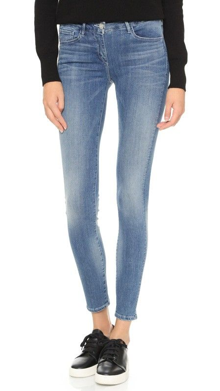3 x 1 Mid Rise Skinny Jeans