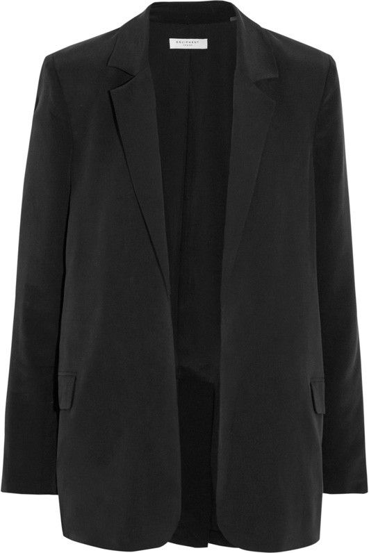 Equipment Mitchell Washed-Silk Blazer