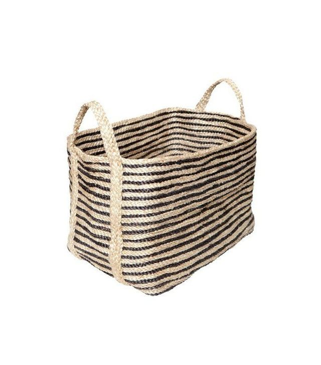 The Dharma Door USA Large Jute Floor Basket