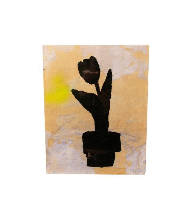 """Duck, Head, Tree, Tulip, Telephone, and Umbrella (Set of Six)"" by Donald Baechler"