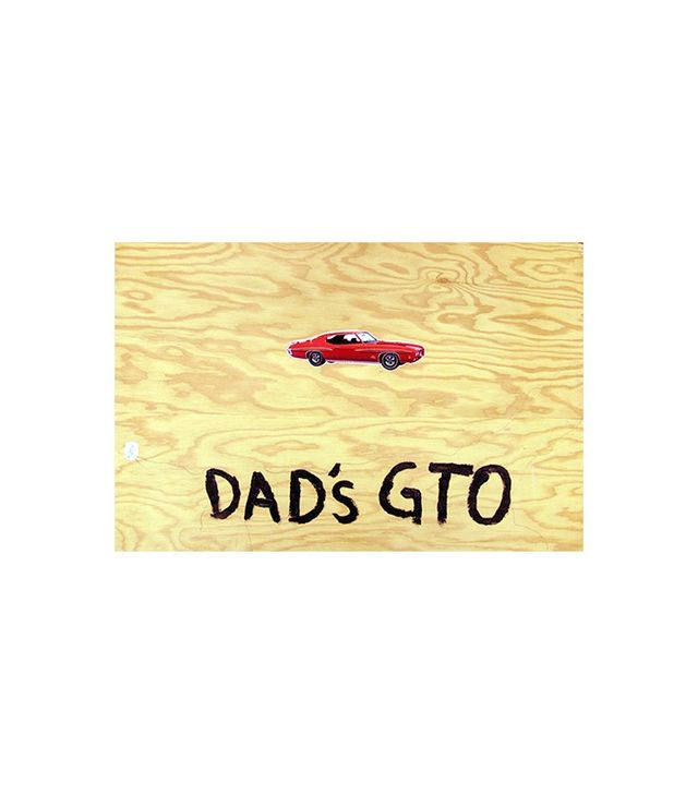 """Untitled (Dad's GTO)"" by Andy Spade"