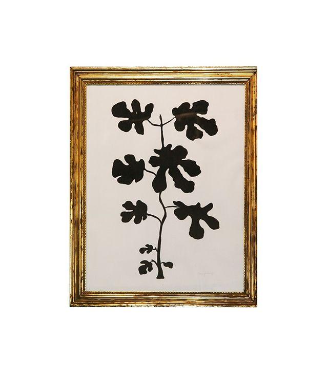 """""""Fig Leaf and Thistle (Two Works)"""" by Hugo Guiness"""