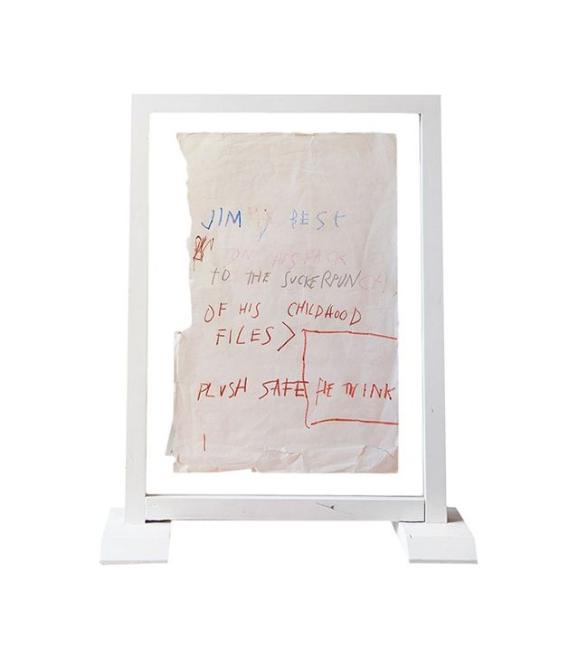 """Jimmy Best on His Back"" by Jean-Michel Basquiat"