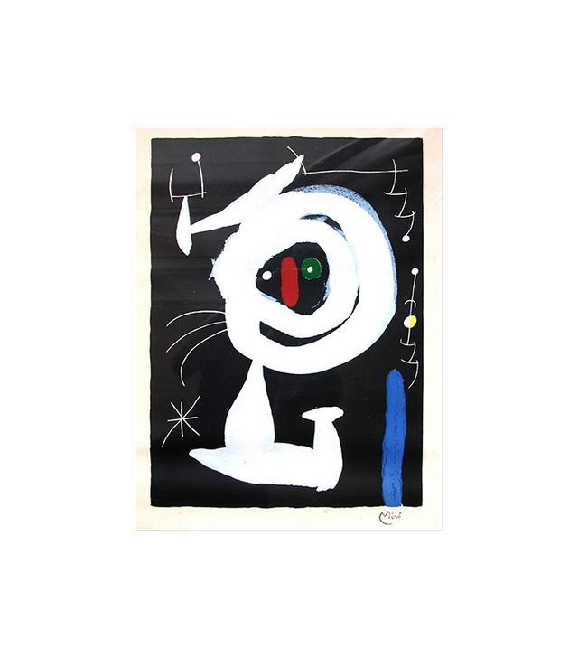 """Femme Dans la Nuit"" by Joan Miró"