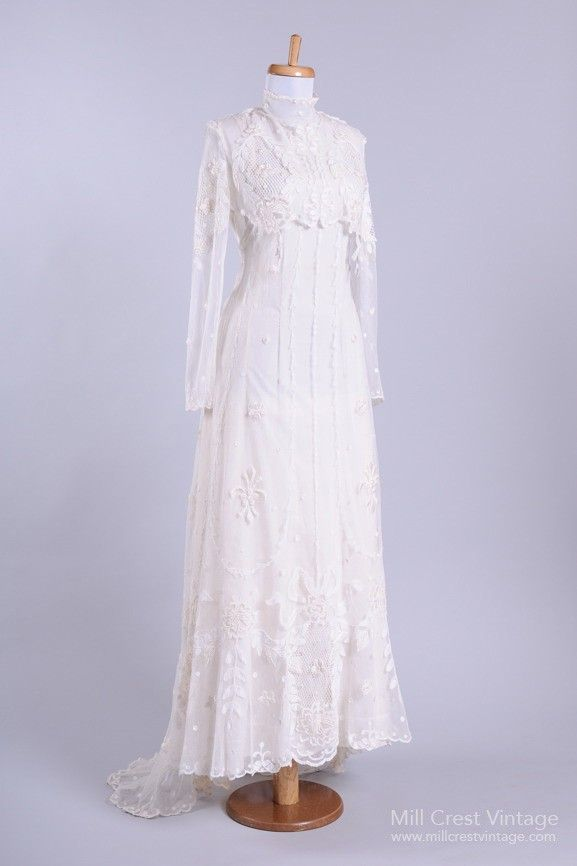 11 Vintage Wedding Dresses To Swoon Over Whowhatwear