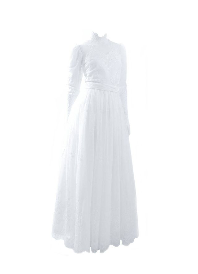 Jacques Heim 1980s Wedding Gown