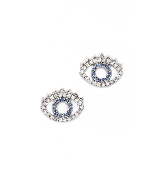 Kenzo Mini Eye Earrings