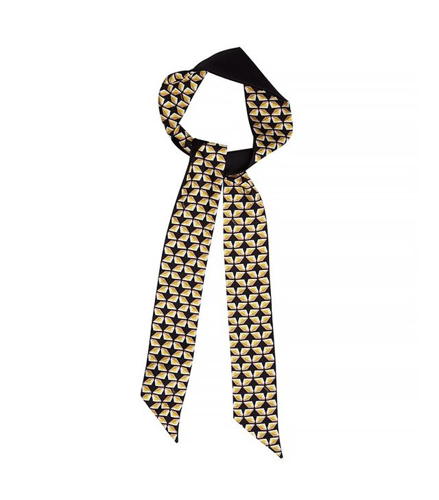 Fendi Mini Bag Bugs-Print Silk Headband