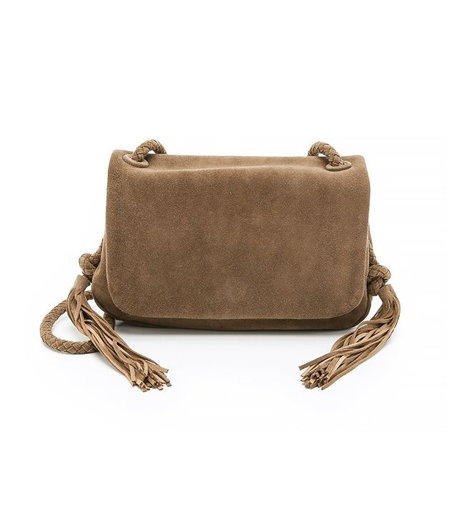 Zimmermann Suede Tassel Cross Body Bag