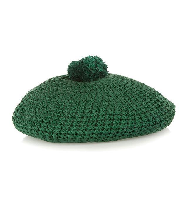 Gucci Crochet Cotton Beret