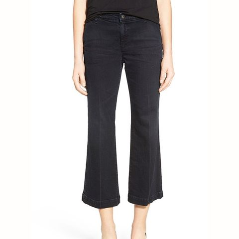 Layla Crop Flare Trouser Jeans