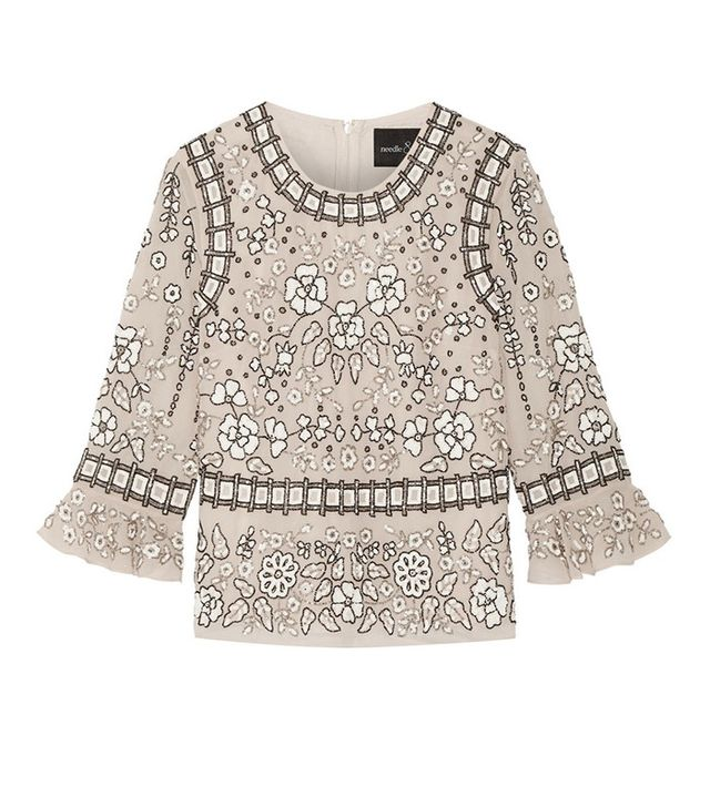 Needle & Thread Embellished Top
