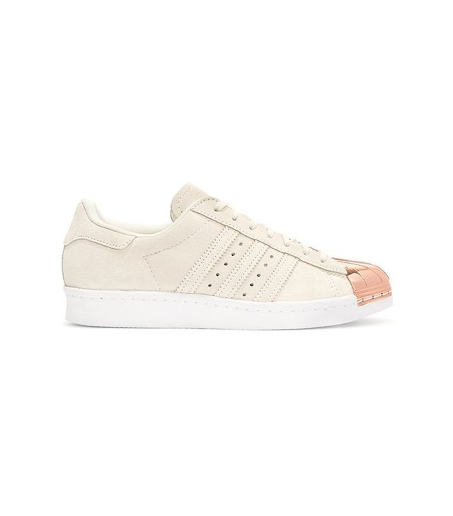 Adidas Originals Superstar 80s Metal Suede Sneakers