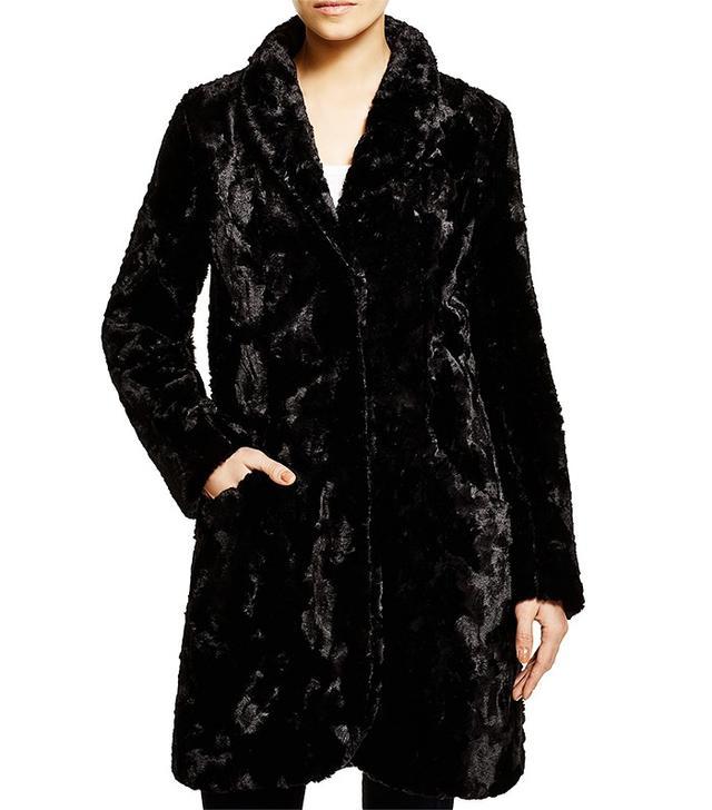 Karen Kane Faux Fur Coat