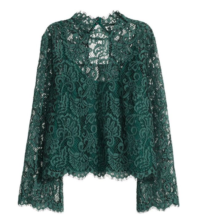H&M Lace Blouse