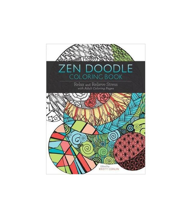 Kristy Conlin Zen Doodle Coloring Book